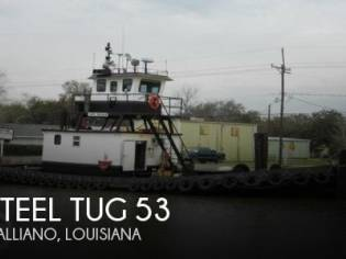 Steel Tug 53 Tug Tow Support Vessel CN