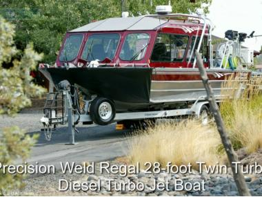 Precision Weld 28 Jet Sled in Florida | Power boats used