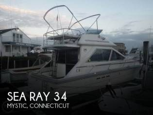Sea Ray 345 Sedan Bridge