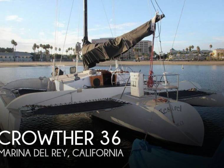 4f8a7006 Crowther Buccaneer 36 in Florida | Trimarans used 55509 - iNautia