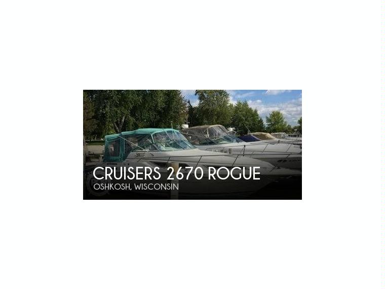 Cruisers yachts 2670 rogue in florida open boats used for 2670 5