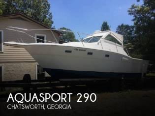 Aquasport 290 Tournament Master