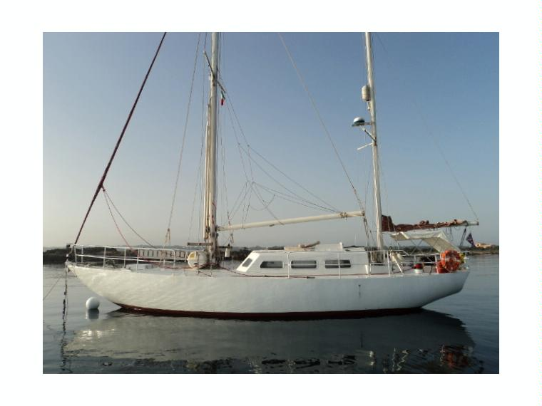 ketch 45 pleasure yacht in Marina de Formentera   Sailing