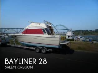 Bayliner 2850 Contessa Sedan Bridge