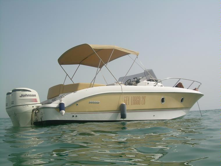 sessa marine key largo 28 in faro speedboats used 65665 inautia. Black Bedroom Furniture Sets. Home Design Ideas
