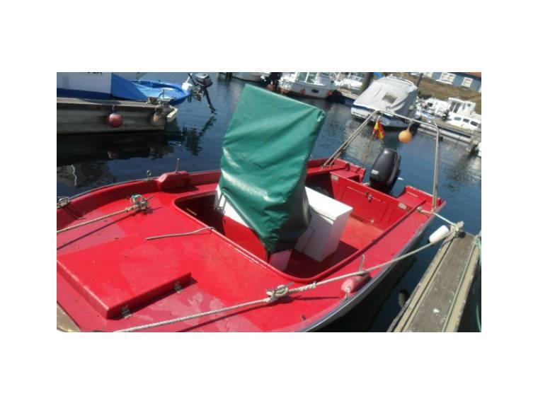 Embarcacion fibra 7ª lista con fueraborda 50 CV