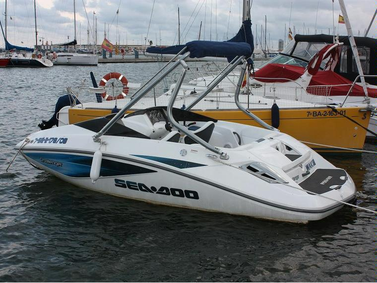 Sea Doo Challenger 180 In Marina Port Castell 243 Jet Skis