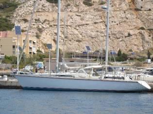 Amel super maramu 2000 red line in France   Sailing cruisers used