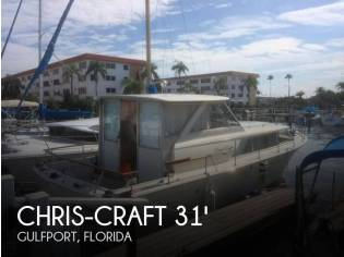 Chris-Craft 31 Commander