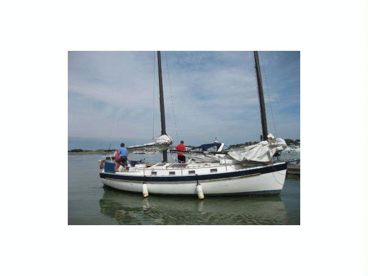 Freedom 35 Cat Ketch In Devon Sailboats Used 57561