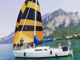 UNICA Barca a vela con motore elettrico a Lecco
