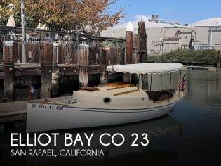 Elliot Bay Co 23 Cabin Launch