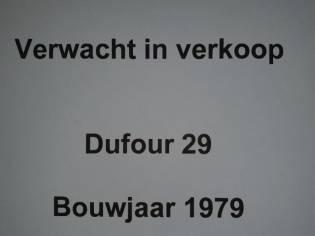 Dufour 29 (Motor 2018)