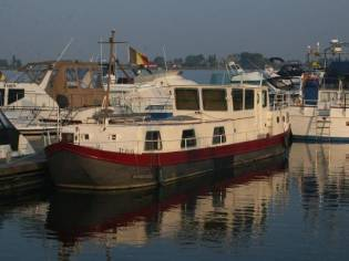 Dutch canal barge