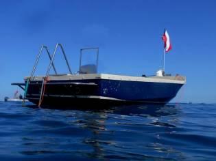 Scialuppa di 6 mt da diving e diporto