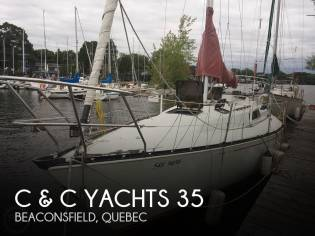 C & C Yachts 35 MK3