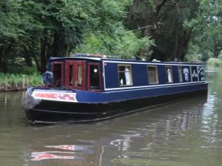 Narrowboat 60' Orion Ltd Semi Trad / Trad
