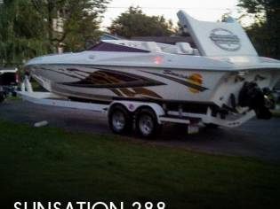 Sunsation 288 Closed Bow