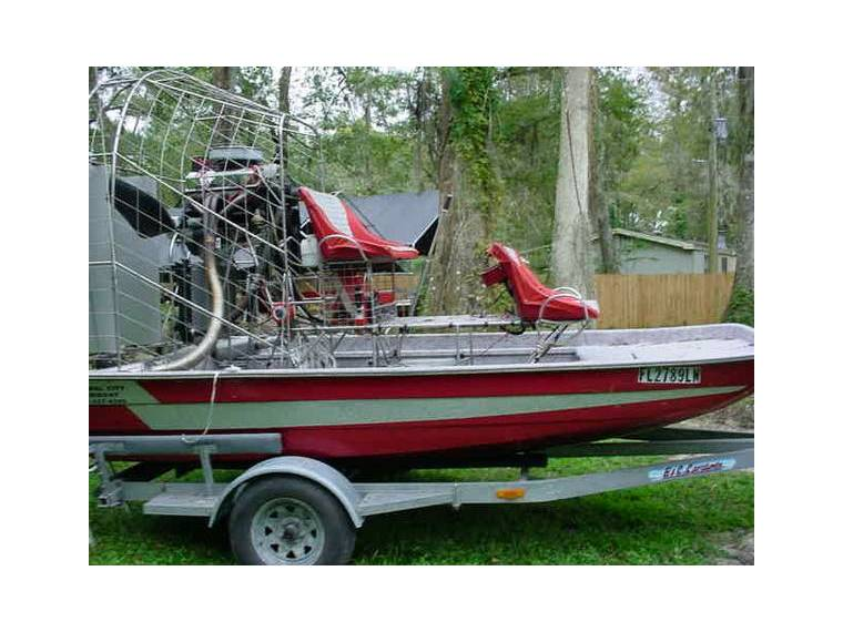 Floral city airboats 14 ft Bandit Airboat in Florida   Power
