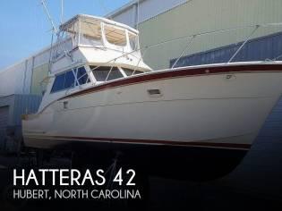 Hatteras 42 Convertible