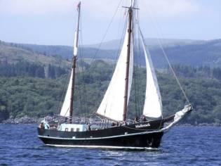 Traditional 24m Dutch Sailing Barge