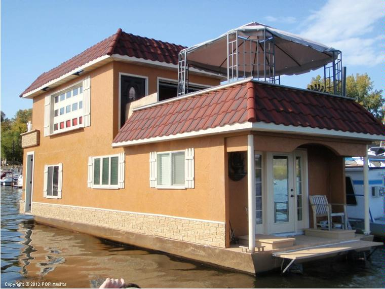 Custom 50 Houseboat in Florida | House boats used 50100 - iNautia
