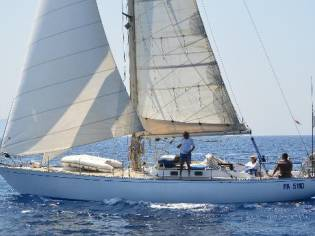 Sparkman and Stephens 45 Cutter Sloop