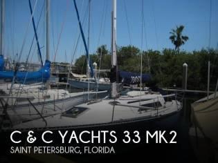 C & C Yachts 33 MK II