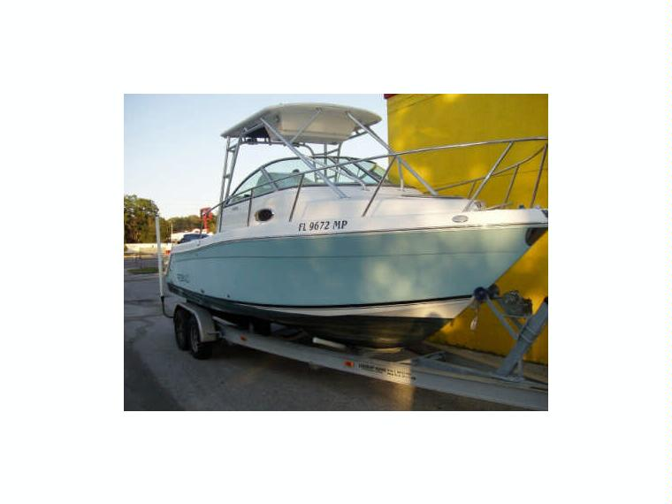 Robalo r 265 in liguria day fishing boats used 57496 for Robalo fish in english