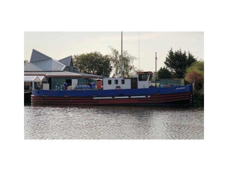 Converted Steel Canal Tug