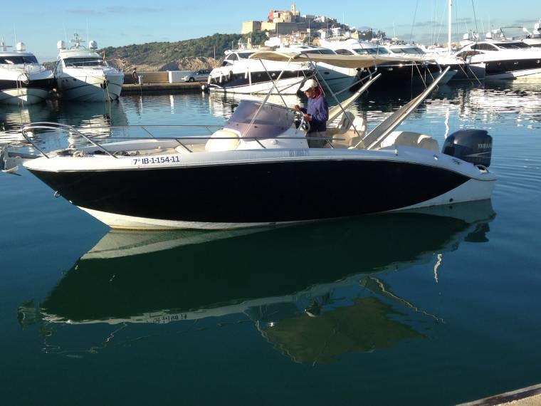 sessa marine key largo 24 in ibiza speedboats used 52705 inautia. Black Bedroom Furniture Sets. Home Design Ideas