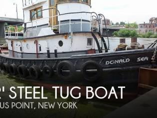 52' Steel Tug Boat Larose Louisiana Built
