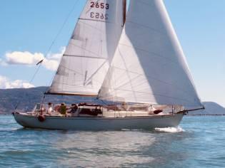 1950 Laurent Giles Sloop 33ft Wooden Classic Yacht