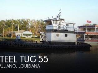 Steel Tug 55 Tug Towing Vessel LC
