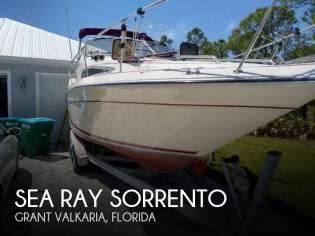 Sea Ray Sorrento 25 Sundancer