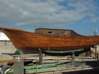 barca artigianale di legno