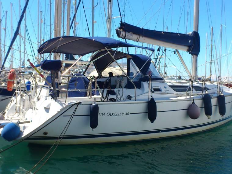 Jeanneau Sun Odyssey 40 In Pto Dptivo Almerimar Sailing Cruisers