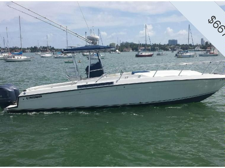 Contender Offshore 35 Center Console Cabin In Florida