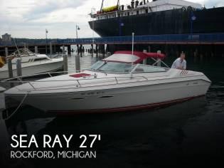 Sea Ray 260 Cuddy Cabin