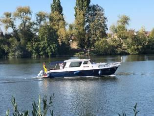 Holl. Stahlboot MERWEDE Kruiser OK 11.20
