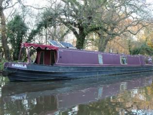 Narrowboat 60' R & D Semi Trad