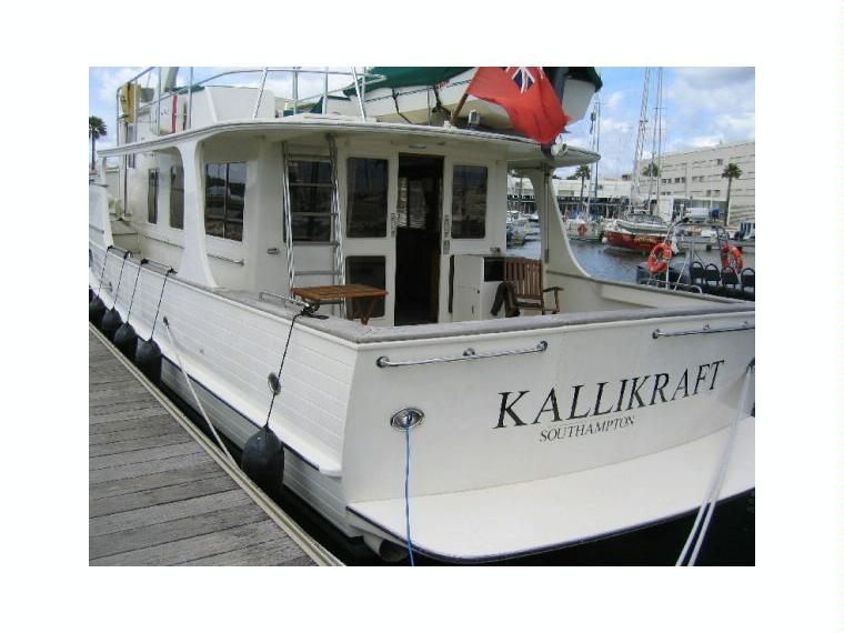 Fleming 55 Pilothouse Motor Yacht In M De Lagos