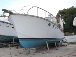 Converted trawler 45ft