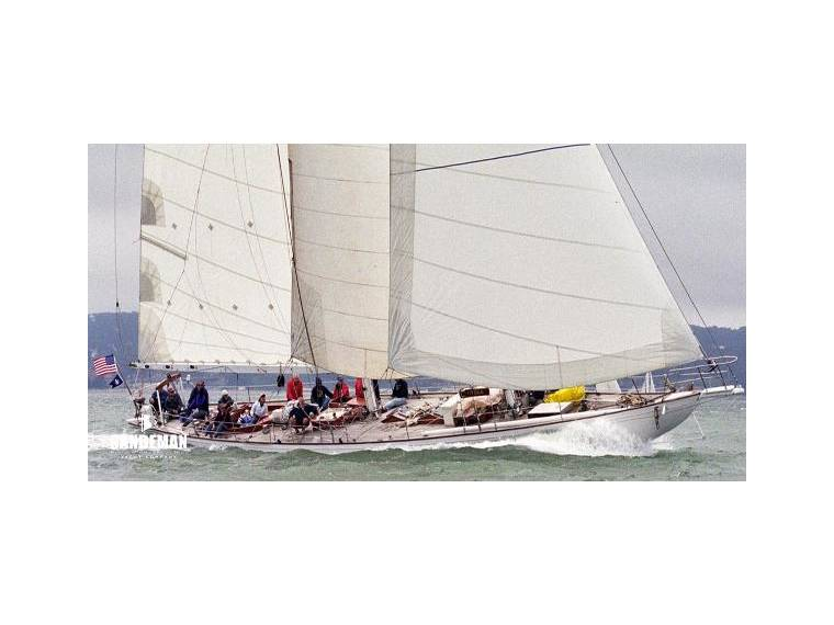 Frank Paine Bermudian Staysail Schooner Project Co in California