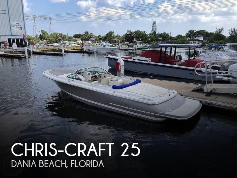 Chris-Craft 25 Launch