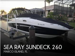 Sea Ray Sundeck 260
