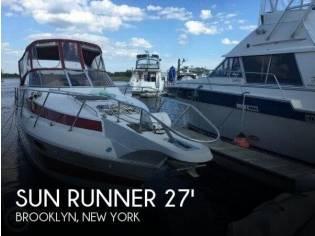 Sun Runner 272 Ultra Cruiser