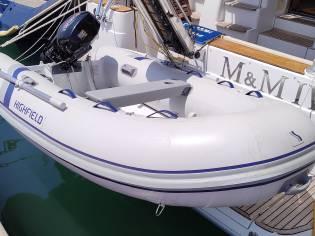 Barco semirrígido HIGHFIELD CL290 con motor SUZUKI
