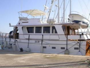 Island Gypsy 57 Gran plataforma popa