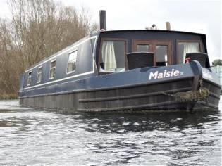 Wide Beam Narrowboat swiftcraft